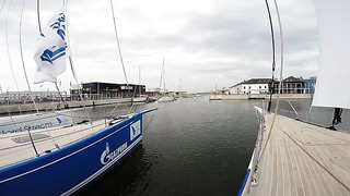 Gazprom Youth Sailing Challenge расправляет паруса! Nord Stream Race 2014 Тренировка. Таллин. 19.05.