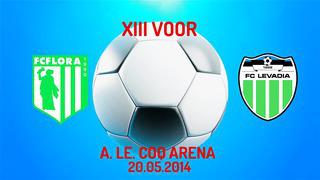 XIII voor Tallinna FC Flora - Tallinna FC Levadia 0_0 (0_0)