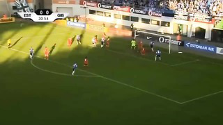 Estonia 1-1 Gibraltar - Amistoso internacional 2014