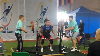 Raw powerlifting, Sell Games Tartu 2014
