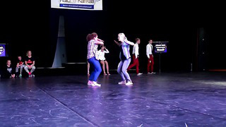 Liise Vaher - Kerli Nahksepp _ Dance Festival Golden Cup 2014 _ Street Dance Adults Duo _ Final