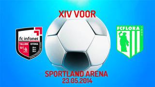 XIV voor FC Infonet - Tallinna FC Flora 2_3 (0_1)