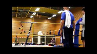 Mandi Mohammedi, Sundsvalls bk (red) vs Arez Al-Dalo Narva bk, (blue) 64 kg Final