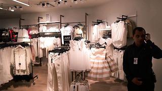River Island store opening in Tallinn, Estonia