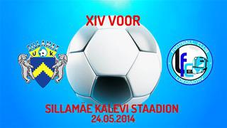 XIV voor JK Sillamäe Kalev - Jõhvi FC Lokomotiv 6_1 (3_0)
