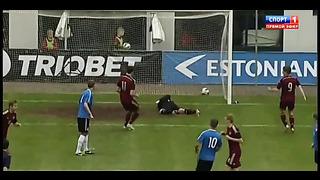 Эстония 1_2 Россия _ Футбол _ Сборные до 21 года