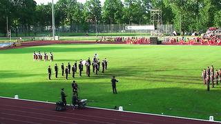 Tartu Võimlemispidu 2014-Kaitseväe orkester ja Sõprus-03.06.14
