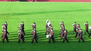 Tartu Võimlemispidu 2014-Kaitseväe orkester-03.06.14