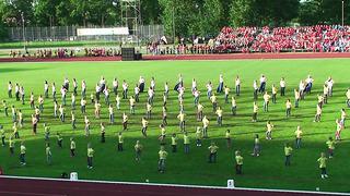 Tartu Võimlemispidu 2014-Kantri ja akrobaatika-03.06.14