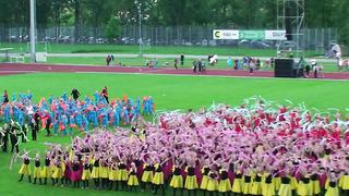 Tartu Võimlemispidu 2014-Treenerite tänamine-03.06.14
