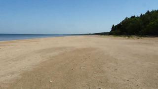 04.06.2014. Narva-Jõesuu official city beach