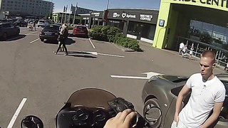 GOPro Hero3 first test on motorcycle in Tallinn