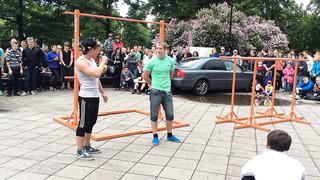 Street workout tallinn estonia 2014[2]