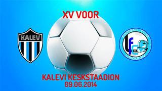 XV voor JK Tallinna Kalev - Jõhvi FC Lokomotiv 2_1 (1_1)