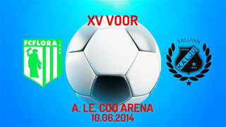 XV voor Tallinna FC Flora - Nõmme Kalju FC 1_0 (0_0)