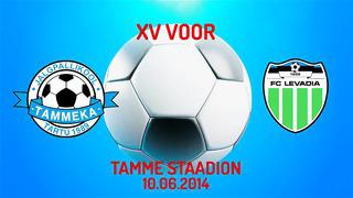 XV voor Tartu JK Tammeka - Tallinna FC Levadia 0_7 (0_2)