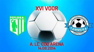 XVI voor Tallinna FC Flora - Tartu JK Tammeka 1_0 (1_0)