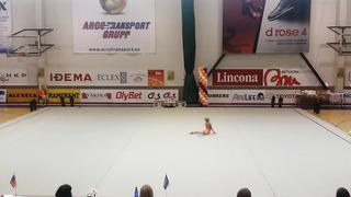 Anastasija Sulojeva Noorus Cup 2014 Tallinn 14 06 2 place 2006