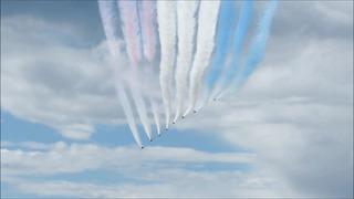 Red Arrows Airshow over Tallinn