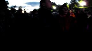 Samsung TL350 _ WB2000 (vs LX7) - Kolumbus Kris Tartu jaaniõhtul Raadi mõisapargis 2014