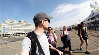 Tallinn, Estonia with Susie and Colin