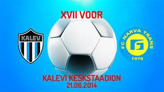 XVII voor JK Tallinna Kalev - JK Narva Trans 3_1 (1_1)