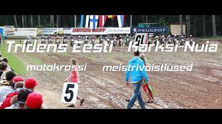 Tridens Eesti meistrivõistlused motokrossis- Karksi Nuias