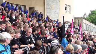2014.06.29 Pärnu Summer Cup 2014 - Tabasalu JK autasustamine