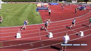 Eesti noorsoo ja juunioride MV 2014 - MN 800m
