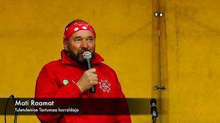 Kuidas laulu- ja tantsupeo tuli läbis Tartu valda