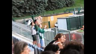 La Fiorita vs Levadia Tallinn - tifosi estoni a San Marino