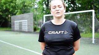 Женщина и футбол_ Яна (Таллинн, Эстония)