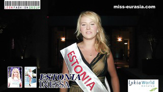 Miss Eurasia 2014. Presentation - Estonia