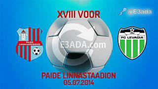 Paide Linnameeskond 0-2 Levadia (Estonia)