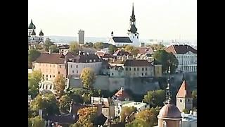 Тур (прогулка) по Таллину Эстонии, Tallinn Estonia