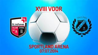 XVIII voor Tallinna FC Infonet - Nõmme Kalju FC 0_0 (0_0)