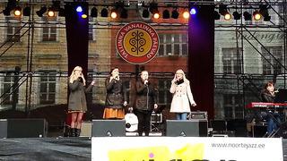 tallinn town hall square concert
