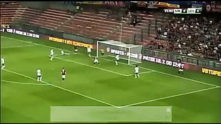 David Lafata Amazing Double Hattrick All 6 Goals Sparta Prague Vs FC Levadia Tallinn 2014