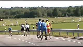 Jõhvi rullimaraton, Eesti rullituuri etapp. 27_04_2014
