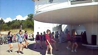 Maerobic tantsustuudio Pärnu tantsib 2014 Girly hip-hop