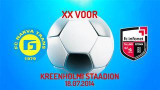 XX voor JK Narva Trans - Tallinna FC Infonet 0_3 (0_0)