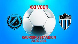 XXI voor Nõmme Kalju FC - JK Tallinna Kalev 5_0 (3_0)