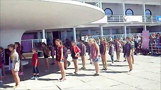 Maerobic tantsustuudio Pärnu tantsib 2014 Jazz funk