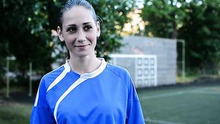 Женщина и футбол_ Света (Таллинн, Эстония)