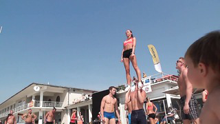 Baltic Stunt Fest 2014 _ Just for Fun _ Amazing Cheerleading Stunts