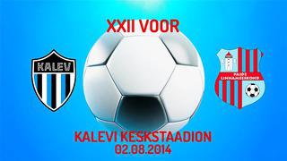XXII voor JK Tallinna Kalev - Paide Linnameeskond 0_3 (0_2)